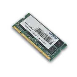 Imagen de Patriot Memory 4GB DDR2 PC2-6400 SODIMM Kit 4GB DDR2 800MHz módulo de - Memoria (4 GB, 1 x 4 GB, DDR2, 800 MHz, 200-pin SO-DIMM, Verde)