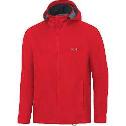 Gore Running Wear GORE Wear, Hombre, Chaqueta impermeable con capucha para correr, GORE R3 GORE-TEX Active Hooded Jacket, Talla: XL, Color Rojo, 100058
