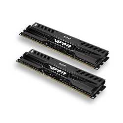 Imagen de Patriot Viper 3 8GB Kit DDR3 PC3-12800 CL9 (PV38G160C9K)