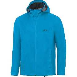 Gore Running Wear GORE Wear, Hombre, Chaqueta impermeable con capucha para correr, GORE R3 GORE-TEX Active Hooded Jacket, Talla: M, Color Azul, 100058