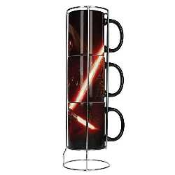 Comprar SD Toys Star Wars Episode VII Cups Set with Metal Stand Kylo Lightsaber