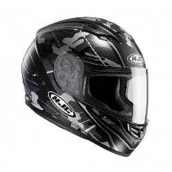Blanc Taille S HJC Casque Moto CS 15