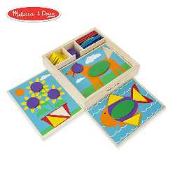 Comprar Melissa & Doug Beginner Pattern Blocks