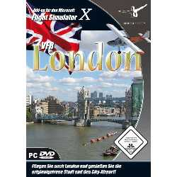 Imagen de Flight Simulator X - VFR London (Add-On) [Importación alemana]