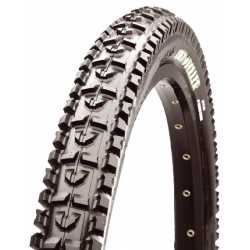 Image of cubierta mtb maxxis high roller 26 tubetype rigida 42a super tacky 2 ply